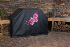 Pink Orchid Grill Cover