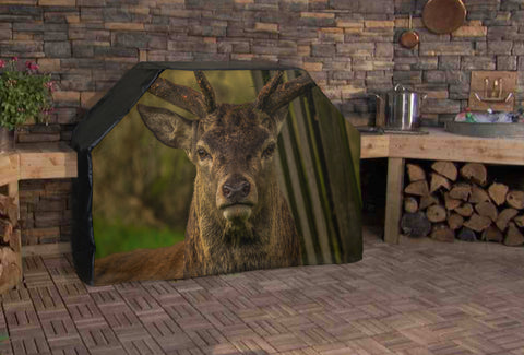 Angry Deer Full BBQ Grill Cover