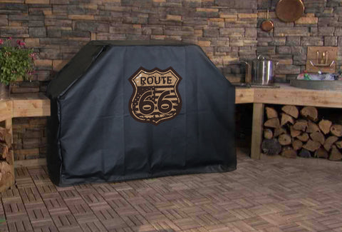 Route 66 Vintage Grill Cover