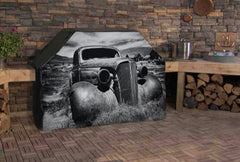 Rusted Pickup Heartland Custom Grill Cover