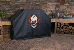 Scary Clown Halloween Grill Cover
