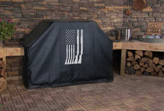 Shotgun American Flag Grill Cover