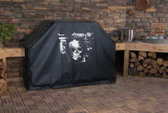 Skeleton Skull Brick Wall Grill Cover