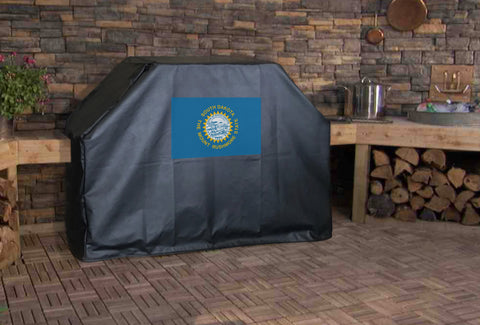South Dakota State Flag Grill Cover