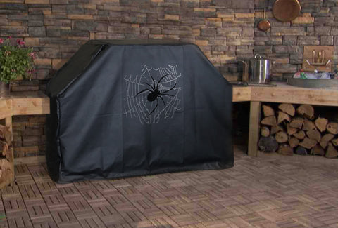 Spider on Web Grill Cover