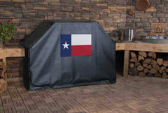Texas State Flag Grill Cover