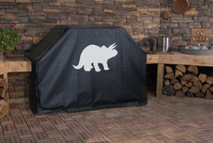 Triceratops Dinosaur Grill Cover