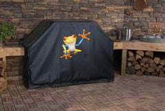 Waving Tree Frog Grill Cover