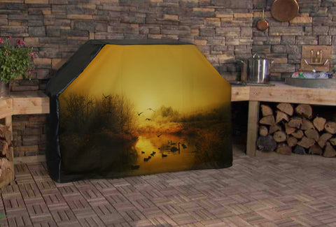 Autumn Wildlife Foul Full BBQ Grill Cover