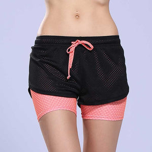 2 In 1 Yoga Shorts