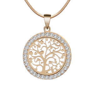 TREE OF LIFE CRYSTAL NECKLACE