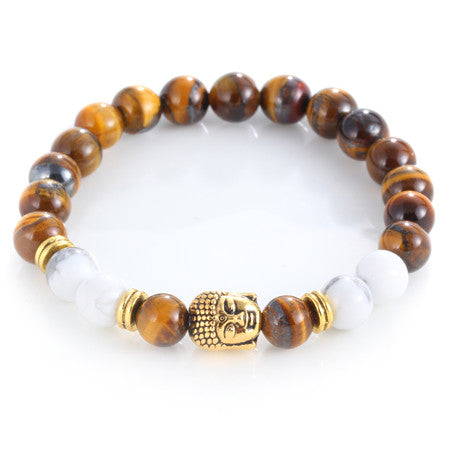 17KM Buddha Bead Charm Bracelet for Men or Women