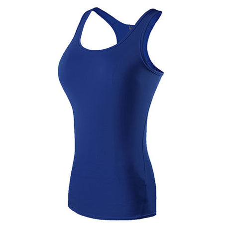 Quick Dry Fitted Yoga Vest