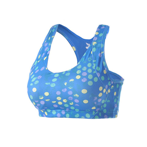 Padded Dot Printed Yoga Vest