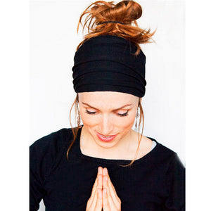 Wide Yoga Nonslip Stretch Headband