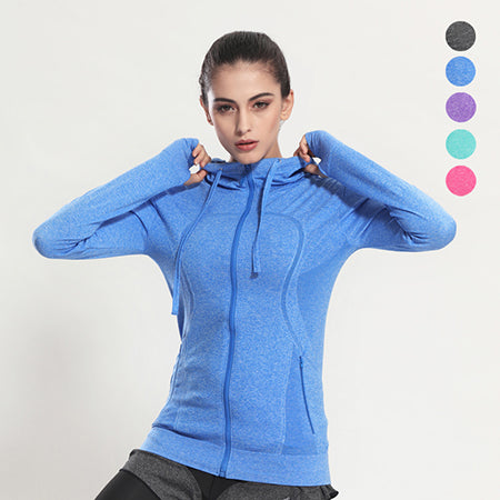 Long Sleeve Running Yoga Jacket