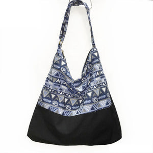 MANDALA CANVAS BEACH BAG