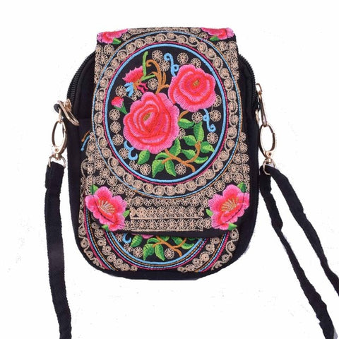 BOHO EMBROIDERED BAG