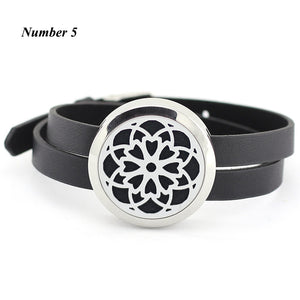 LOCKET DIFFUSER BRACELET (with 5 free oil pads)