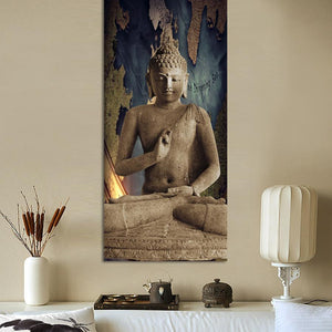 UNFRAMED BUDDHA CANVAS PRINTINGS