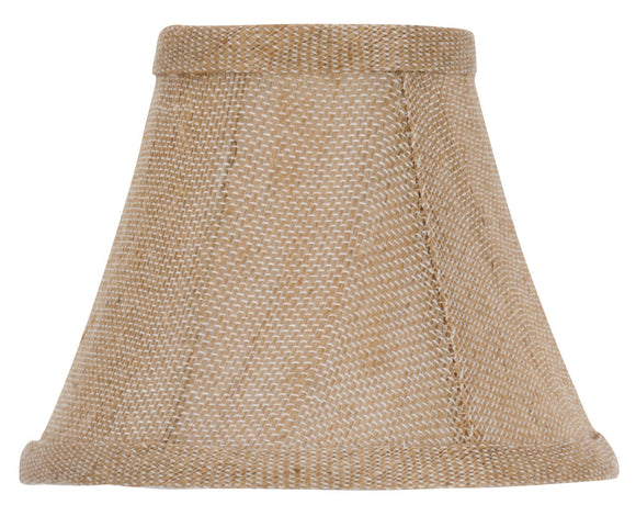UpgradeLights Chandelier Lamp Shades 5 inch Sand Belgium Linen(Ui18)