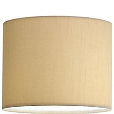 Tan 18 Inch Barrel Table/Floor Lampshade Replacement 16x18x10