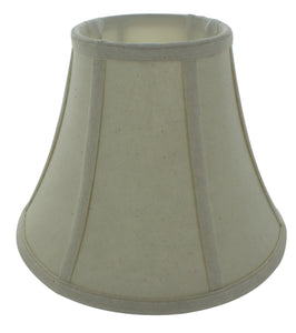 UpgradeLights Eggshell Linen 10 Inch Flared Drum Lampshade with Uno Fitter