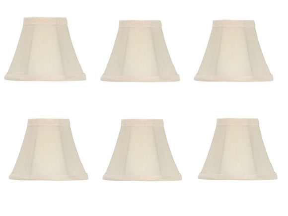 UpgradeLights Set of Six Chandelier Shades 6