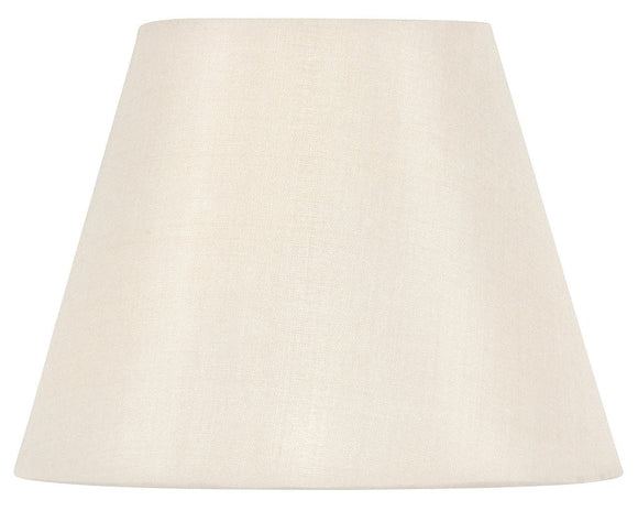 Upgradelights Eggshell Silk 8 Inch Uno Lampshade