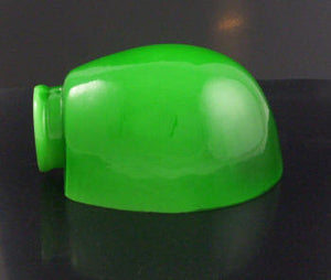 Upgradelights Green Glass 6.25 Inch Pharmacy Lampshade Replacement