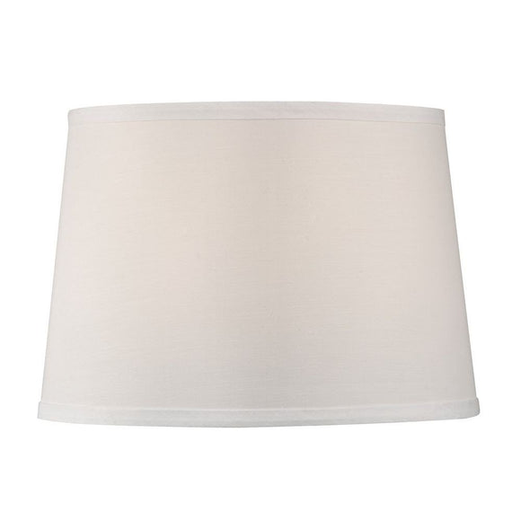 Eggshell Silk 16 Inch Retro Drum Floor or Table Lampshade Replacement