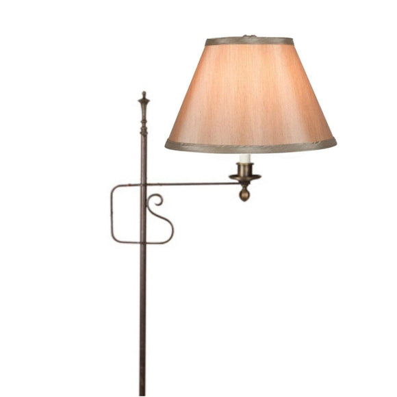 Bronze Silk 10 Inch Empire Clip on Replacement Lampshade (6x10x7.5)