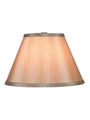 Bronze Silk 12 Inch Empire Lampshade with Washer Fitter 6x12x8