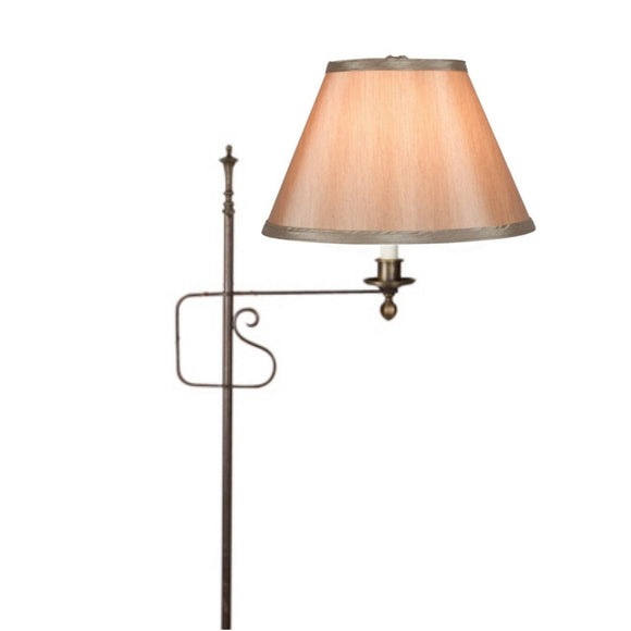 Upgradelights 8 Inch Empire Clip on Replacement Lampshade (Bronze)