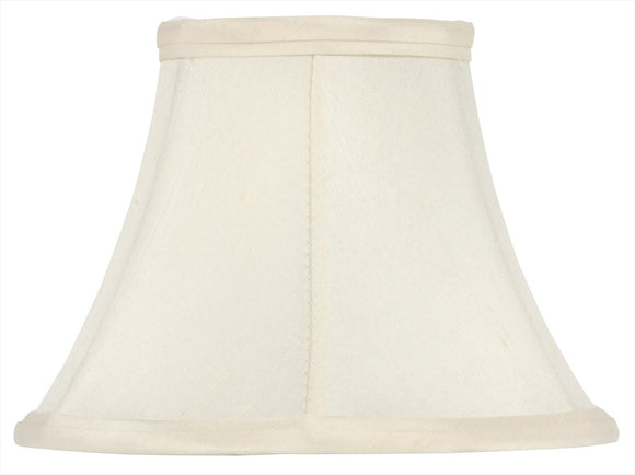 Upgrade Lights 5 Inch Chandelier Shades in Eggshell Pure Silk
