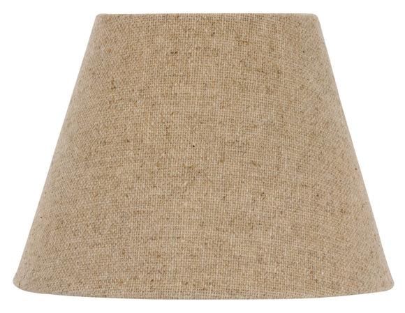UpgradeLights English Barrel Natural Linen 6 Inch Drum Chandelier Lamp Shade(Ui7)