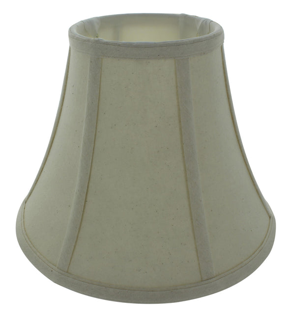 UpgradeLights Eggshell Linen 12 Inch Flared Drum Lampshade with Uno Fitter