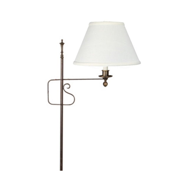 UpgradeLights Off White Linen 8 Inch Floor Lamp Shade Replacement