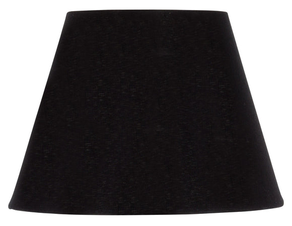 UpgradeLights 6 Inch European Empire Style Chandelier Lamp Shade Black Silk