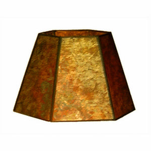 8 Inch Mica Lamp Shade Replacement Clip on Lamp shade