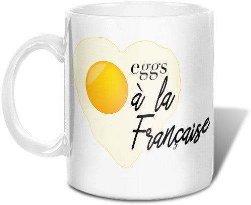Eggs...a La Francaise Mug Mugs at VIP Swag