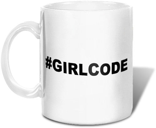#GIRLCODE Mug Mugs at VIP Swag
