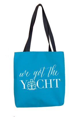 We Got the Yacht Tote Bag at VIP Swag