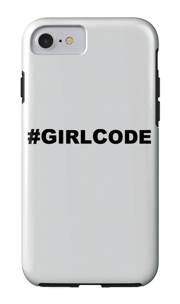 #GIRLCODE iPhone Case iPhone Case at VIP Swag