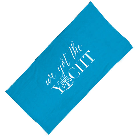 We Got the Yacht Towel Towel at VIP Swag