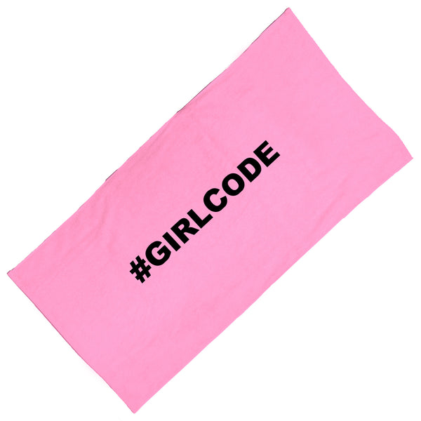#GIRLCODE Towel Towel at VIP Swag