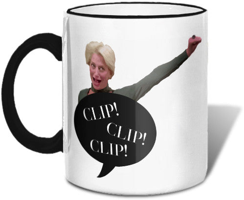 Clip Clip Clip Mug Mugs at VIP Swag