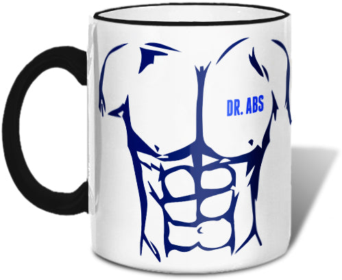 Dr Abs' Abs Mug Mugs at VIP Swag