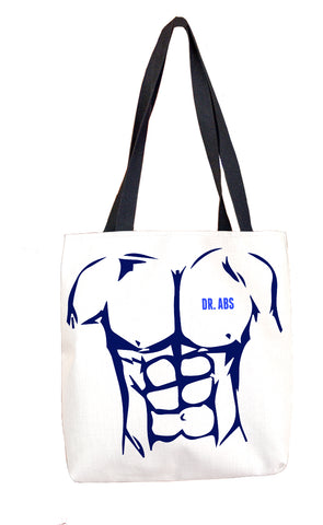 Dr Abs' Abs Tote Bag Tote Bags at VIP Swag