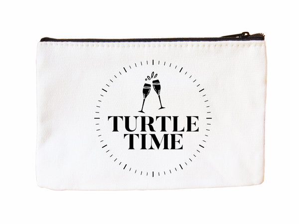 Turtle Time Cosmetic Case